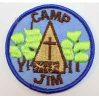 Girl Scout Camp Jim 1970's Uniform Patch