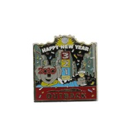 Outback Happy New Year 2010 Pin Koala Party Advertising Hat Lapel Pin