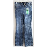 Justice NWT Premium High Waist Jegging Faded Navy Jeans Sz 12 R