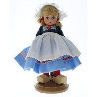 "Madame Alexander 8"" Doll & Outfit Netherlands with wood shoes"