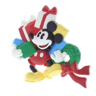 Hallmark Cards Inc.  Mickey Mouse with gifts Disney Lapen PIn Brooch