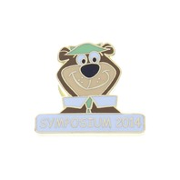 Hanna Barbara Yogi Bear Symposium 2014 Hat Lapel Pin