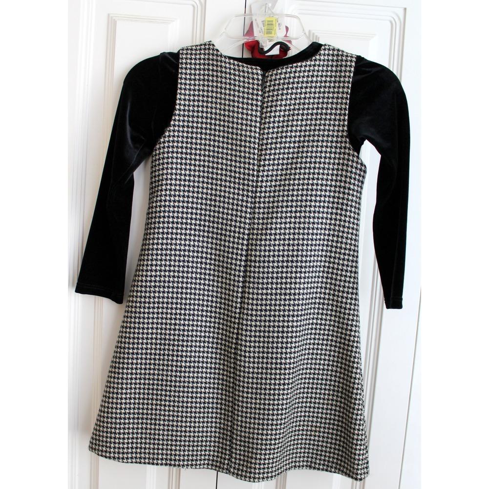 Rosetta Millington Boutique 3 Pc Lot Jumper/Dress Set Sz 4 Black White NWT Rose