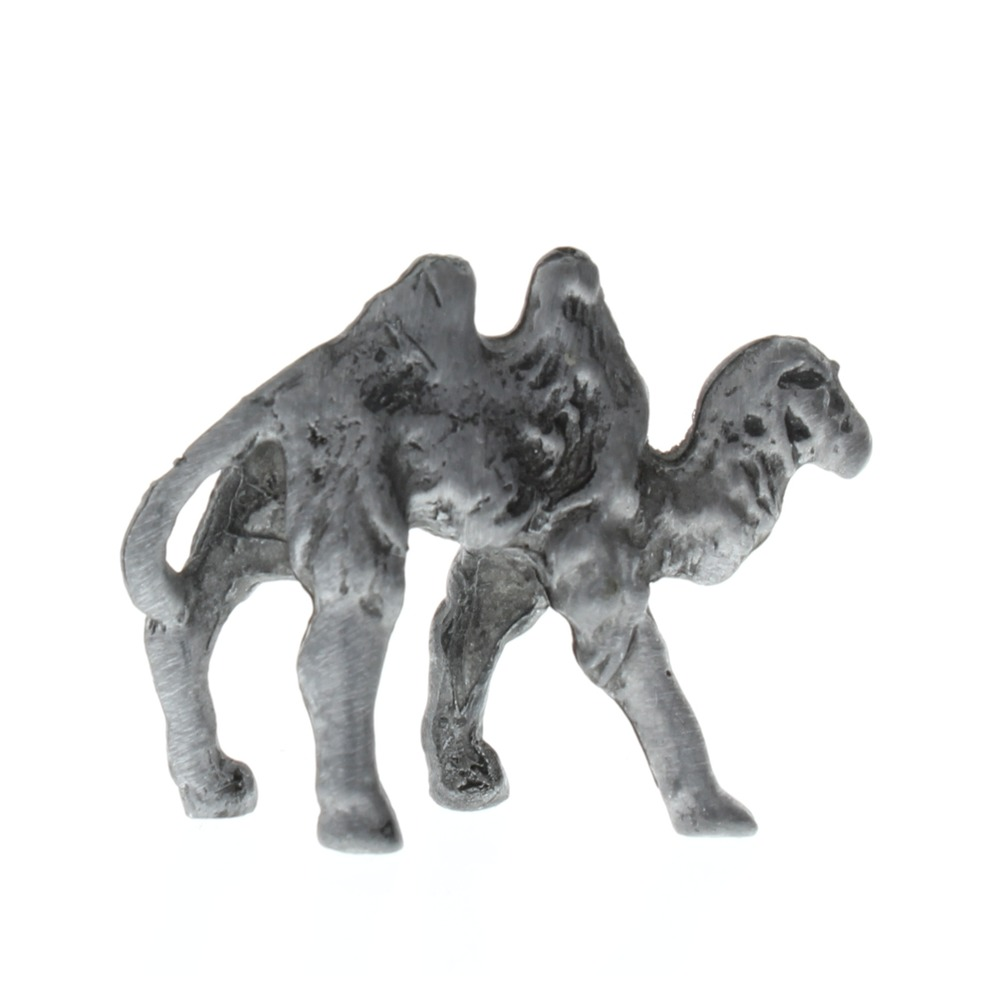 Pewter Metal 2 Hump Desert Camel Animal Figurine