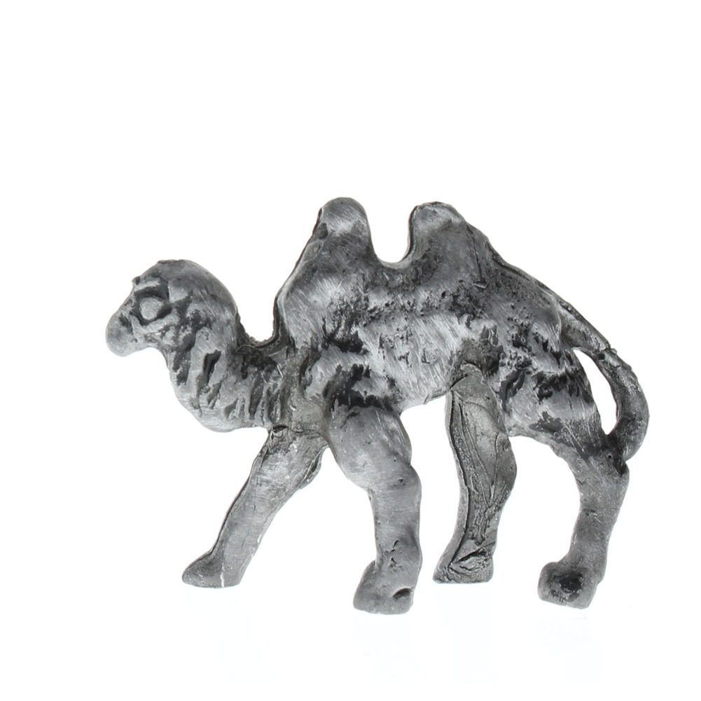 Pewter Metal 2 Hump Desert Camel Animal Figurine