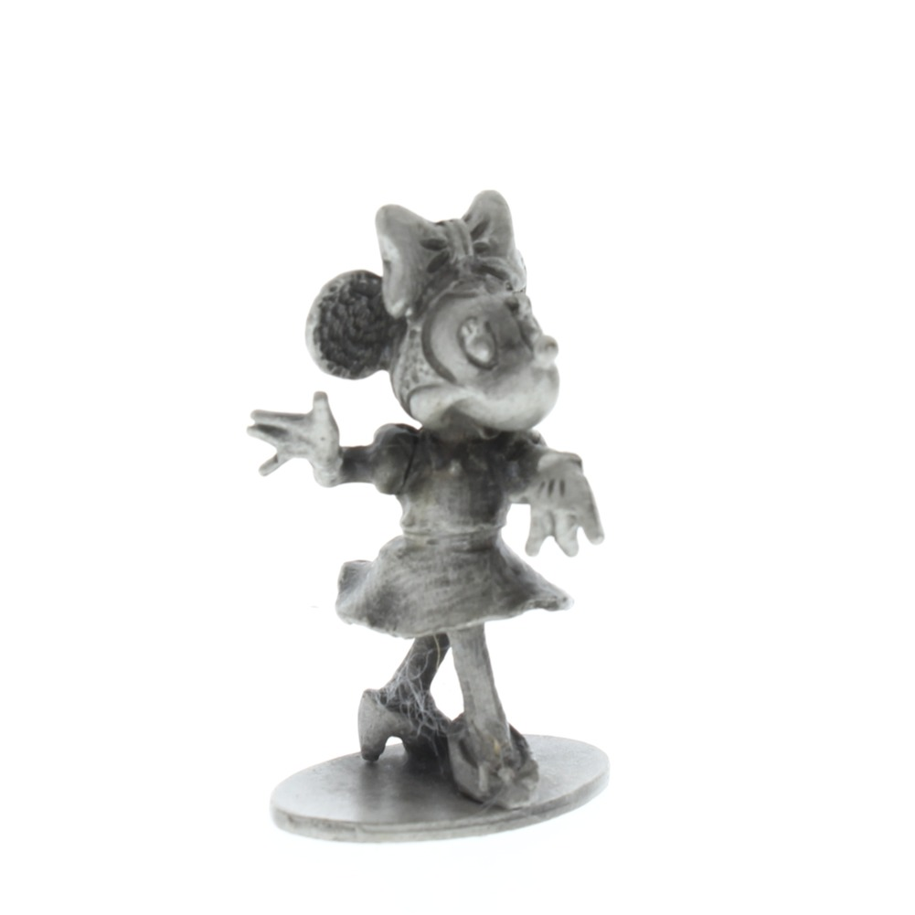 Hudson Pewter Minnie Mouse Walt Disney Figurine #655
