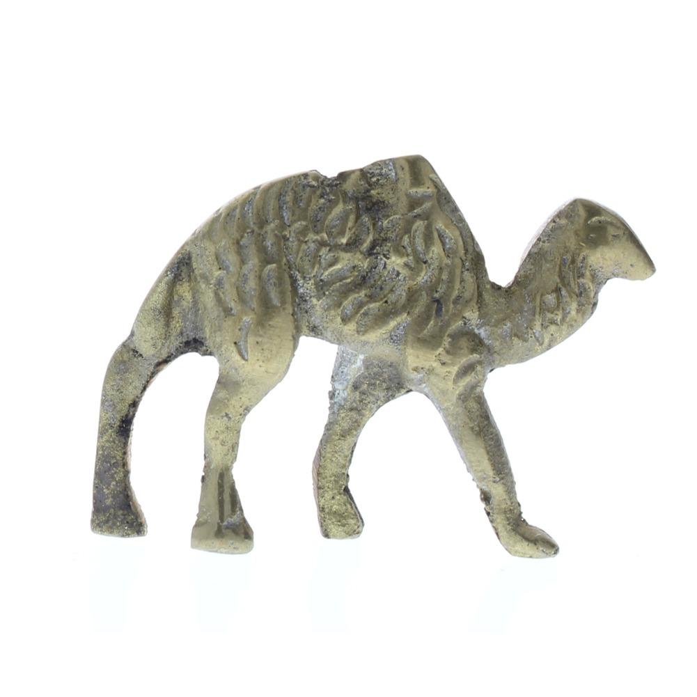 Pewter Metal Desert Camel Animal Figurine in brass