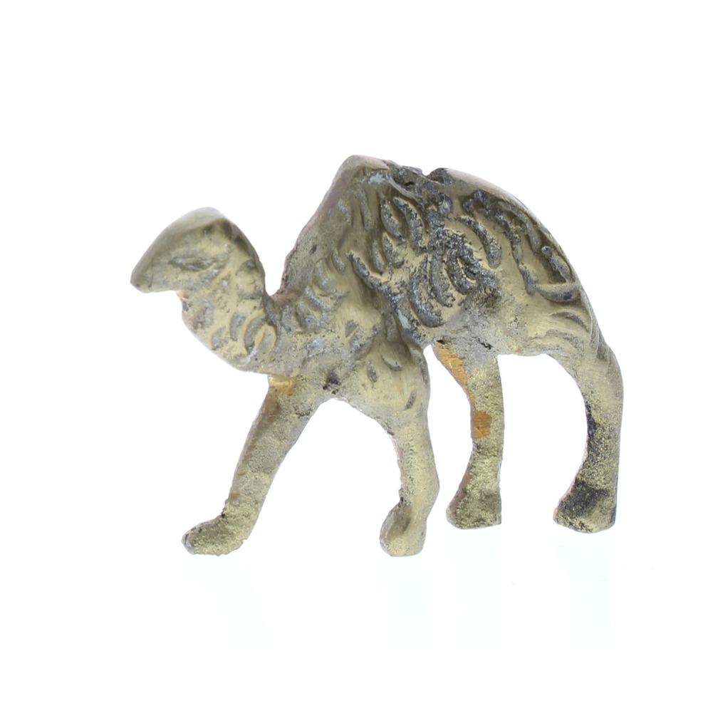 Pewter Metal Desert Camel Animal Figurine in brass