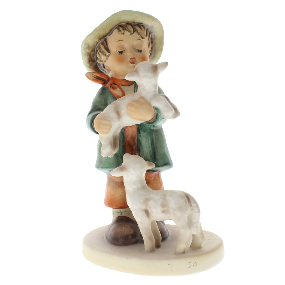"Goebel Hummel  ""Shepherd's Boy"" with his lambs 64 TMK 5 Porcelain Figurine"