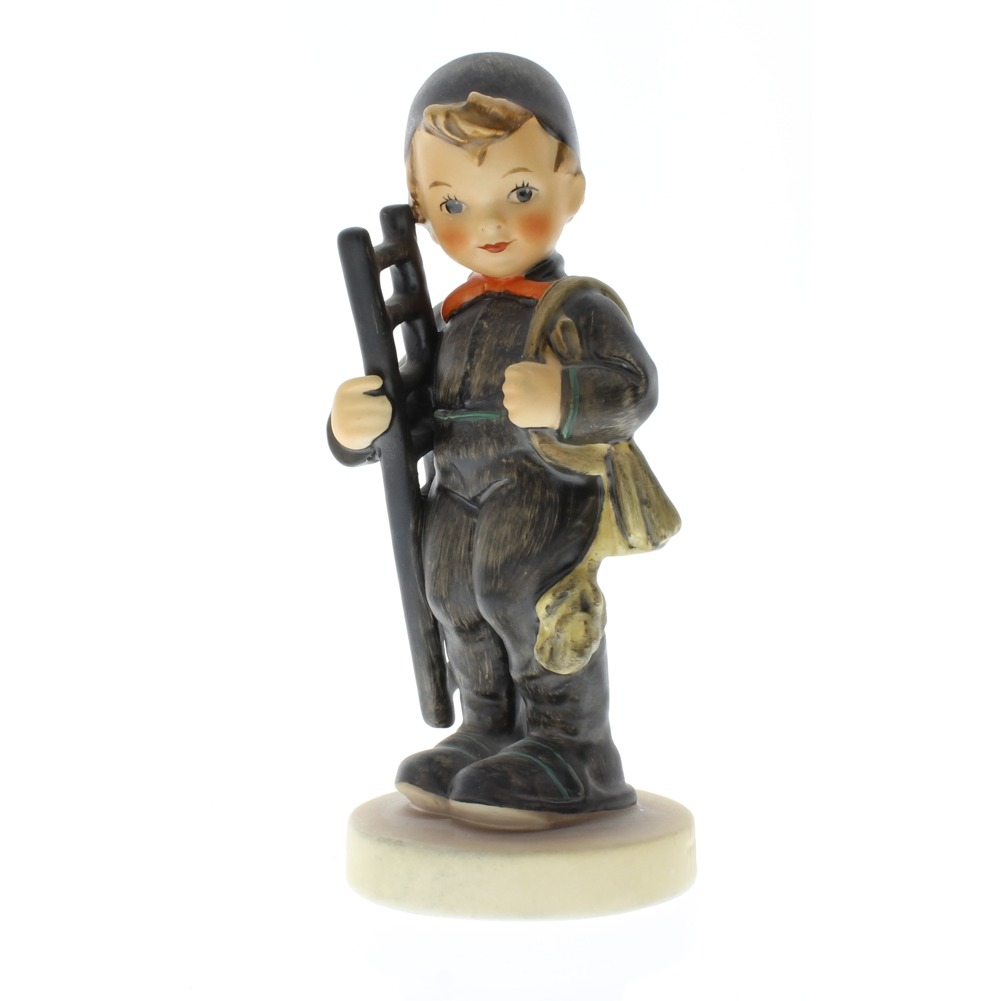 Goebel Hummel Chimney Sweep Little Boy 12/1 Tmp 5 Porcelain Figurine