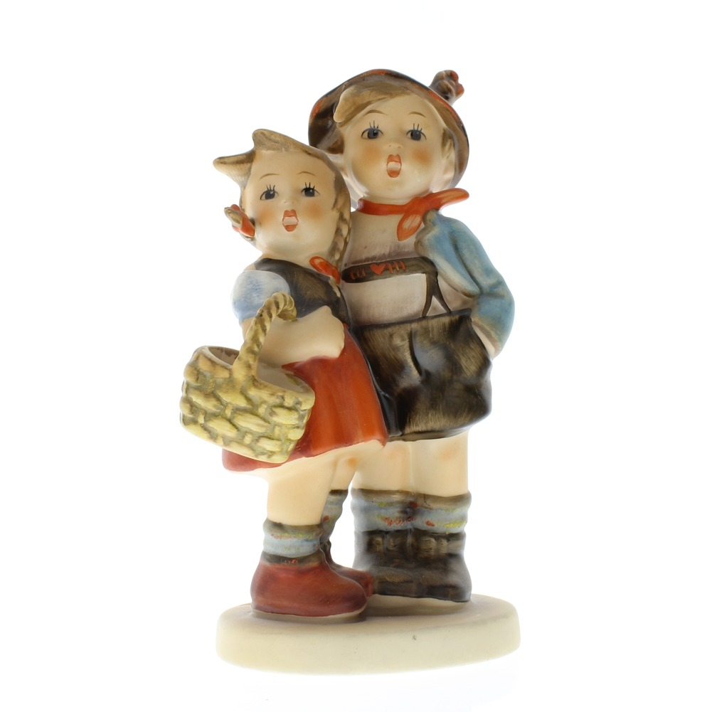 Goebel #Hummel Surprise Little Boy and Girl #94 TMK5 1980 porcelain