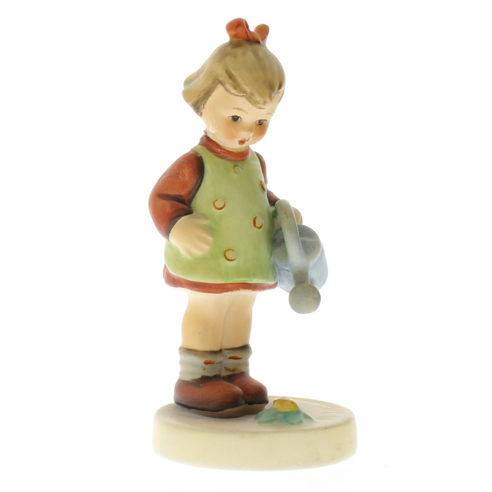 Goebel Hummel Surprise Little Gardener Girl #74 TMK 3 porcelain