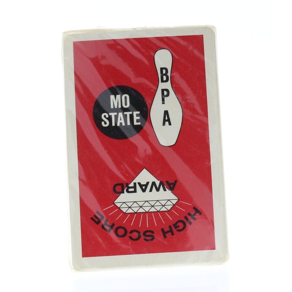 High Score Award BPA Missouri State Mo Sealed Package Deck of Playing Cards