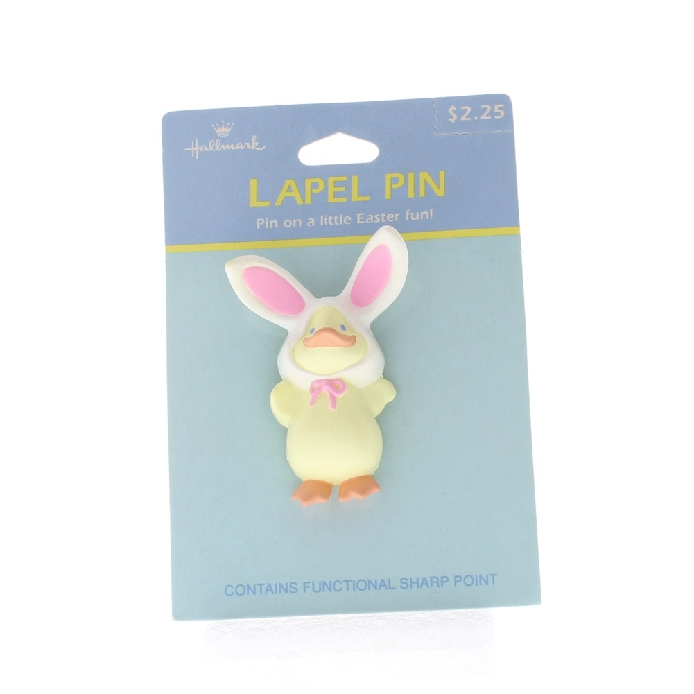Hallmark Easter Hat Lapel Pin Easter Chic in a Bunny Rabbit Costume