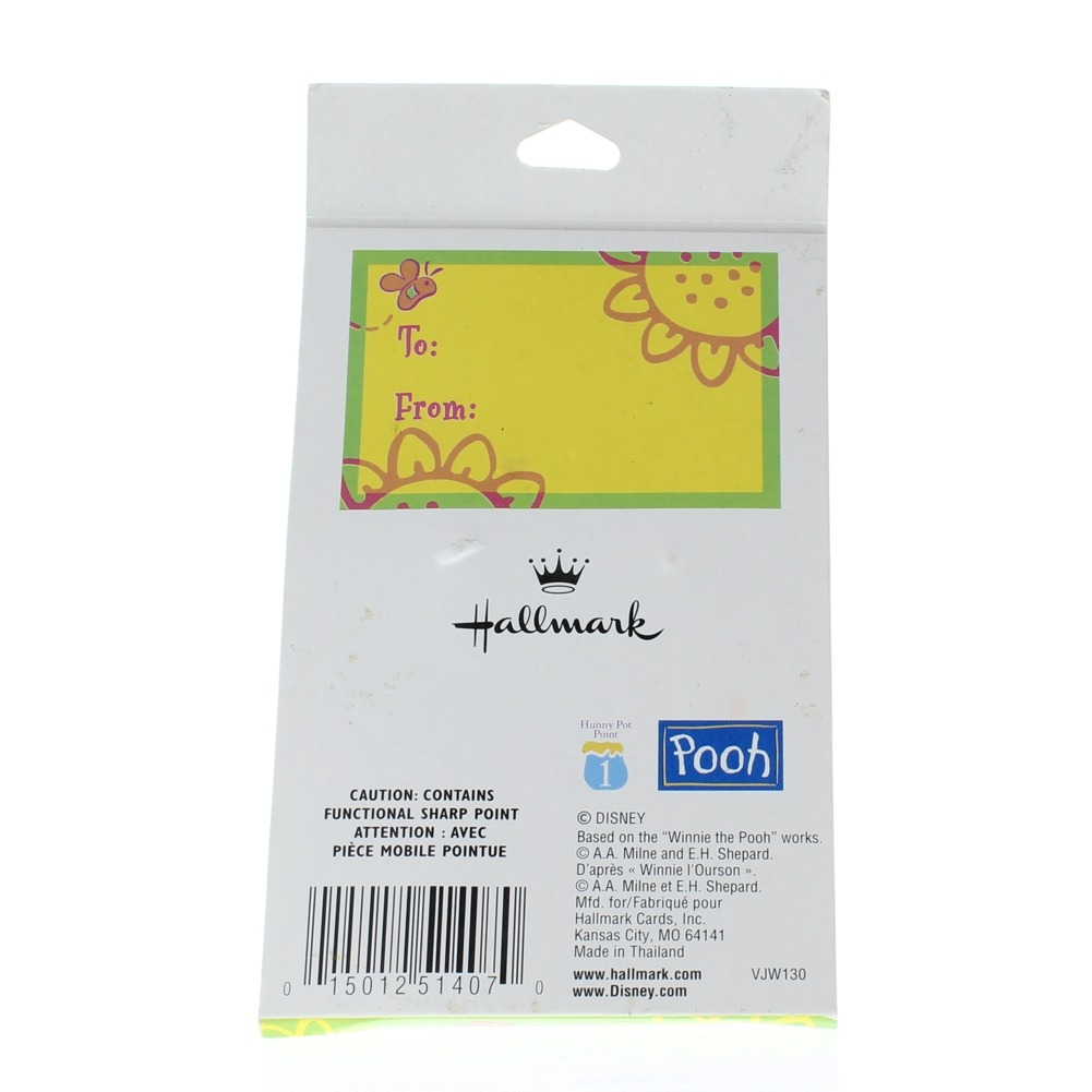 Hallmark Winnie the Pooh and Piglet Too Duo Hat Lapel Pin Set