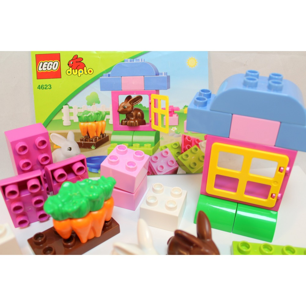 Lego Duplo Rabbit Garden 4623 Bunny Carrots Building Toy Easter