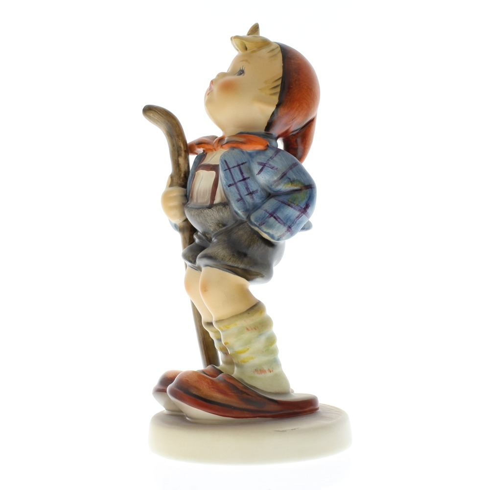 Goebel Hummel Figurine #16 Little Hiker TMK 5 Little Boy walking stick