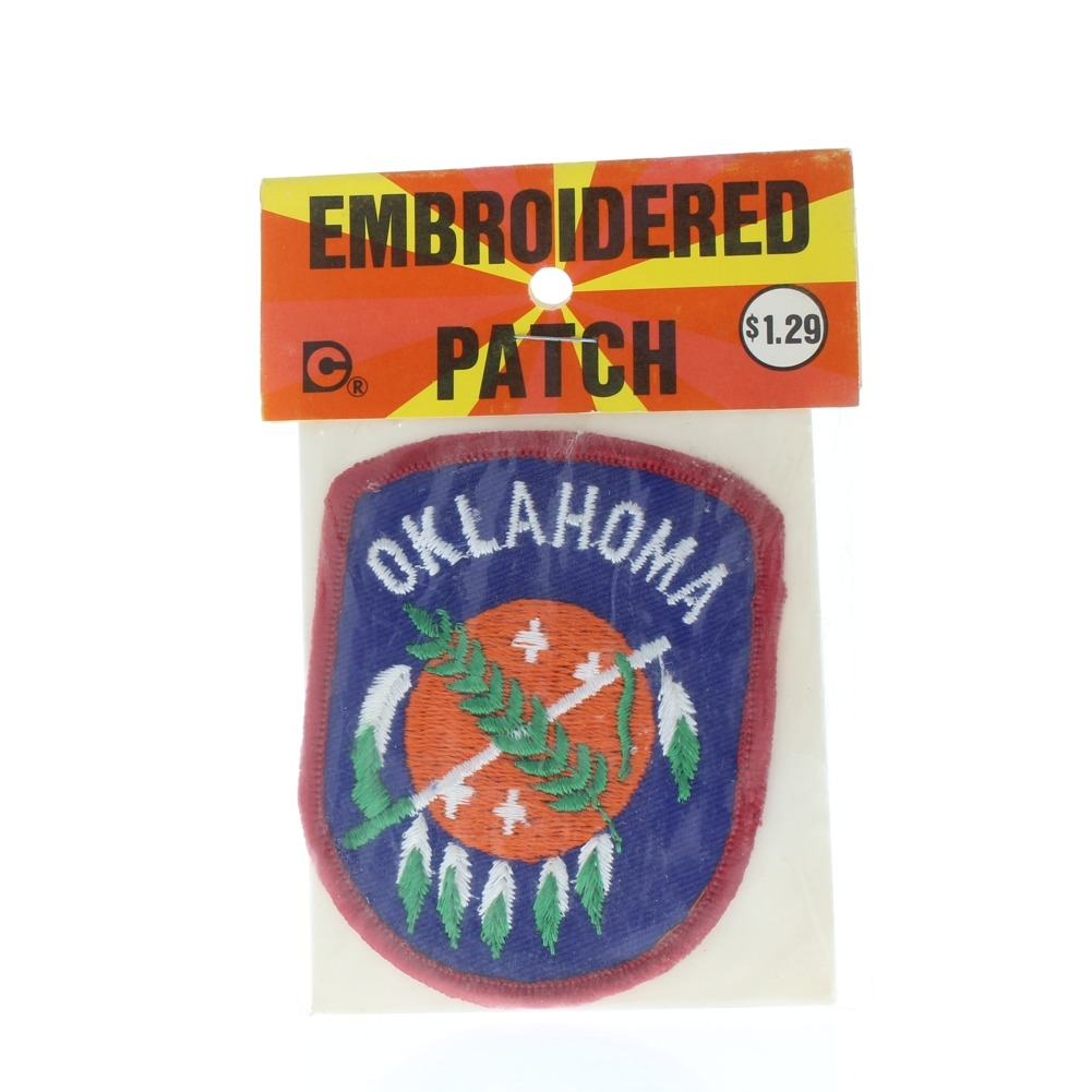 Vintage Uniform State Patch Oklahoma