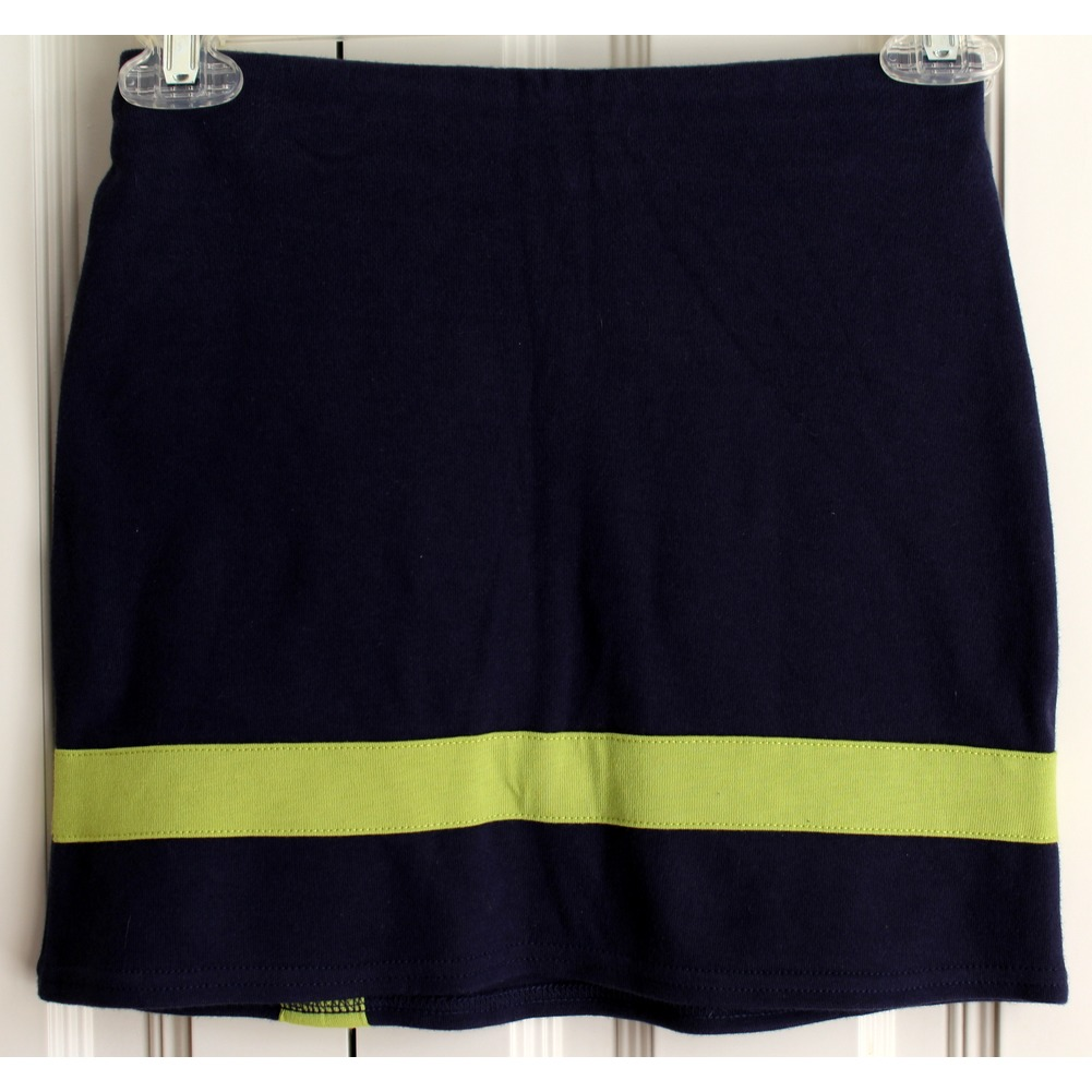 Hartstrings NWT Girls Navy Button Flower Skort Skirt Sz 7