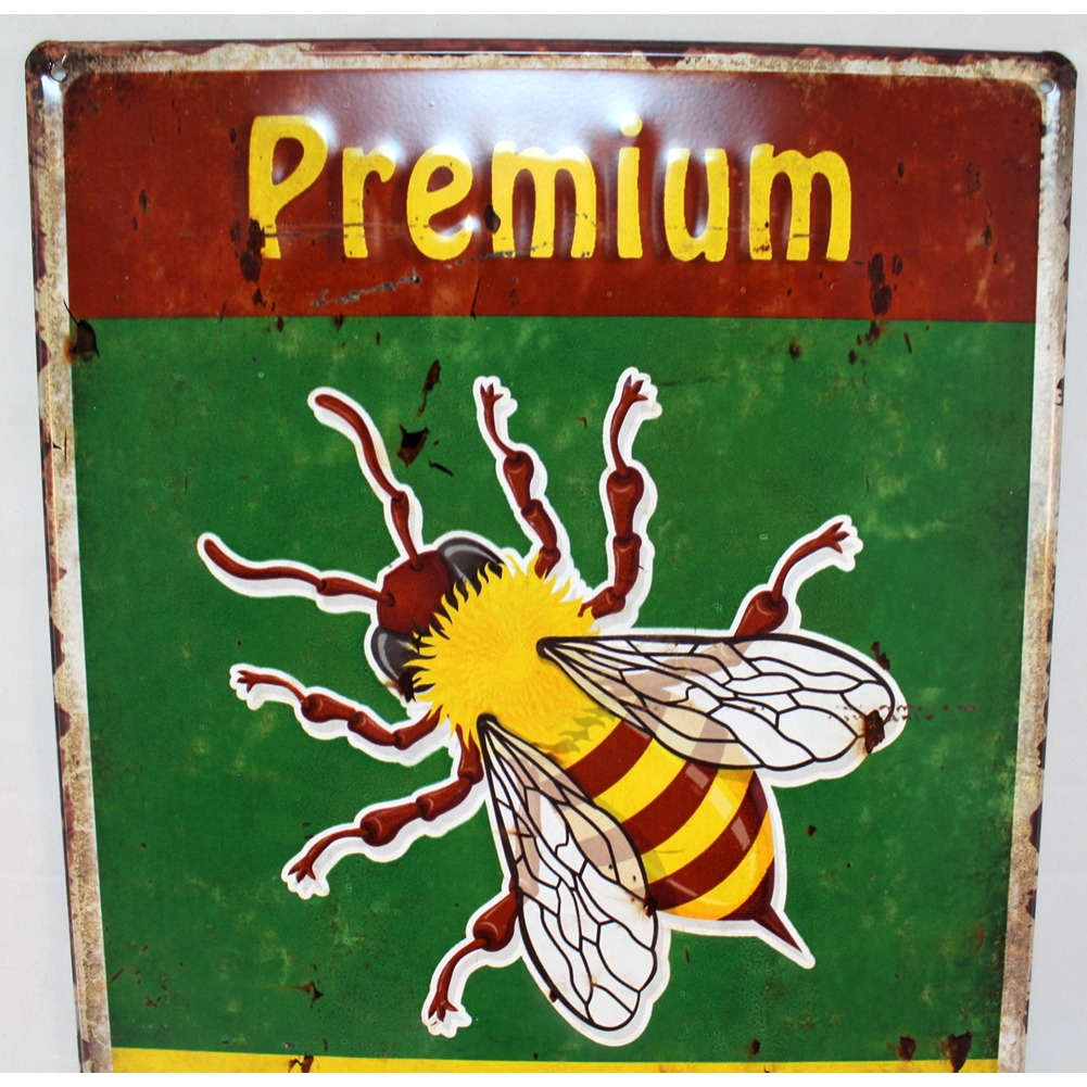 Honey Bee Premium Quality Metal Sign Pub Game Room Bar