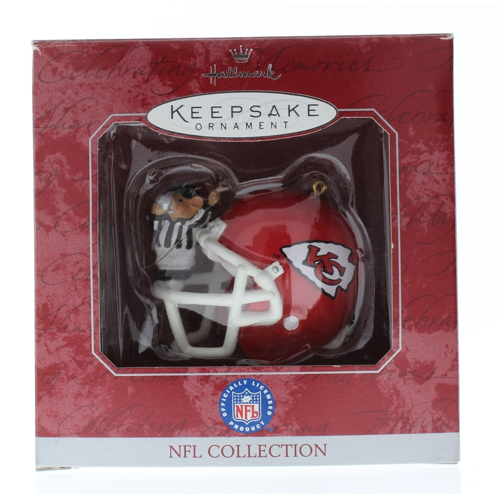 Hallmark Chirfs Helmet NFL Collection Ornament 1998 with Box