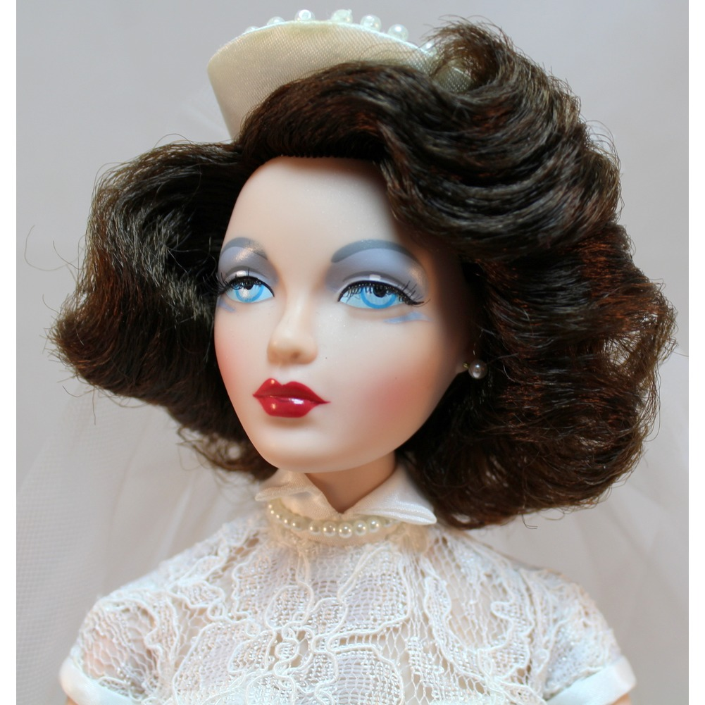 "Gene Marshall Doll with Outfit Monaco Bride 16"" By Mel Odom Ashton Drake Galleries"