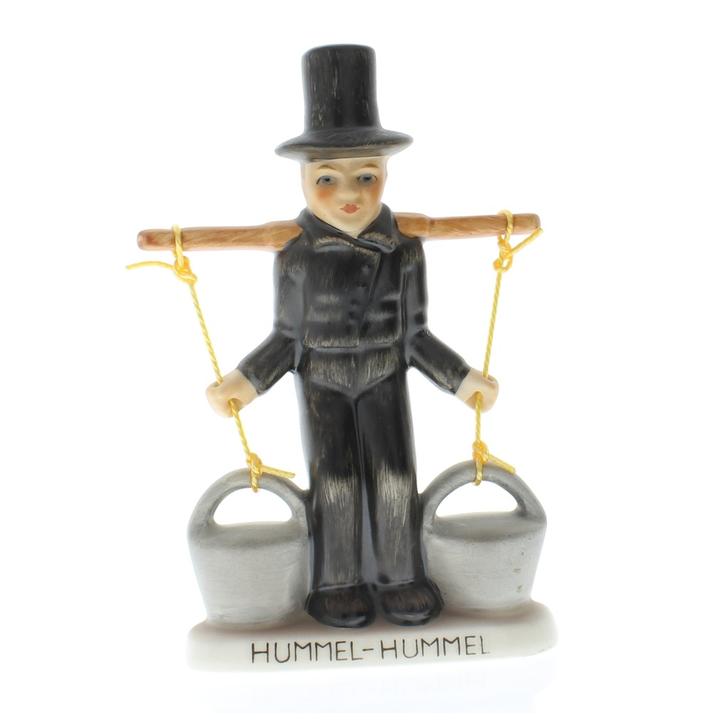 Goebel Hummel Figurine #58 Water Carrier Boy with Buckets TMK 5