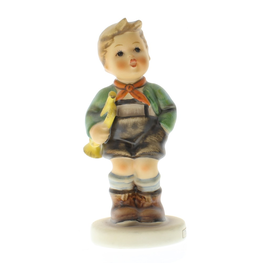 Goebel Hummel Figurine #97 Little Boy with a Trumpet TMK 5