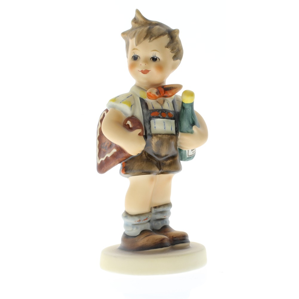 Goebel Hummel Figurine #299 Valentine Joy Surprise Treat TMK 7 Collector Edition