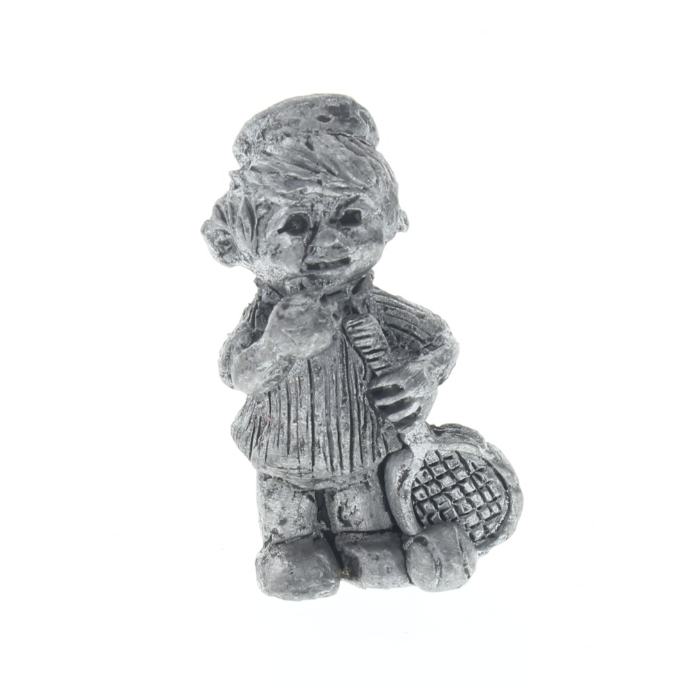 Finest Pewter Figurine Little Boy or girl Tennis Player