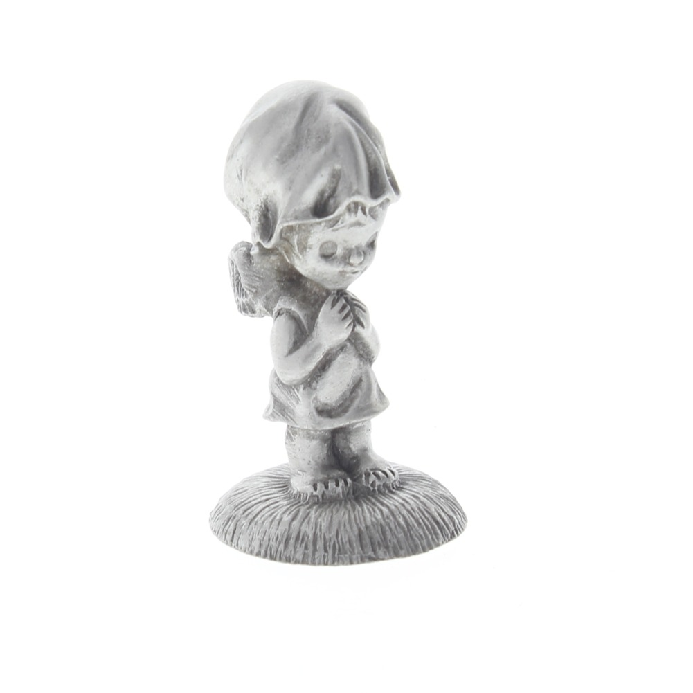 Pewter Little Galleries Betsy Clark Little Angel Girl Standing