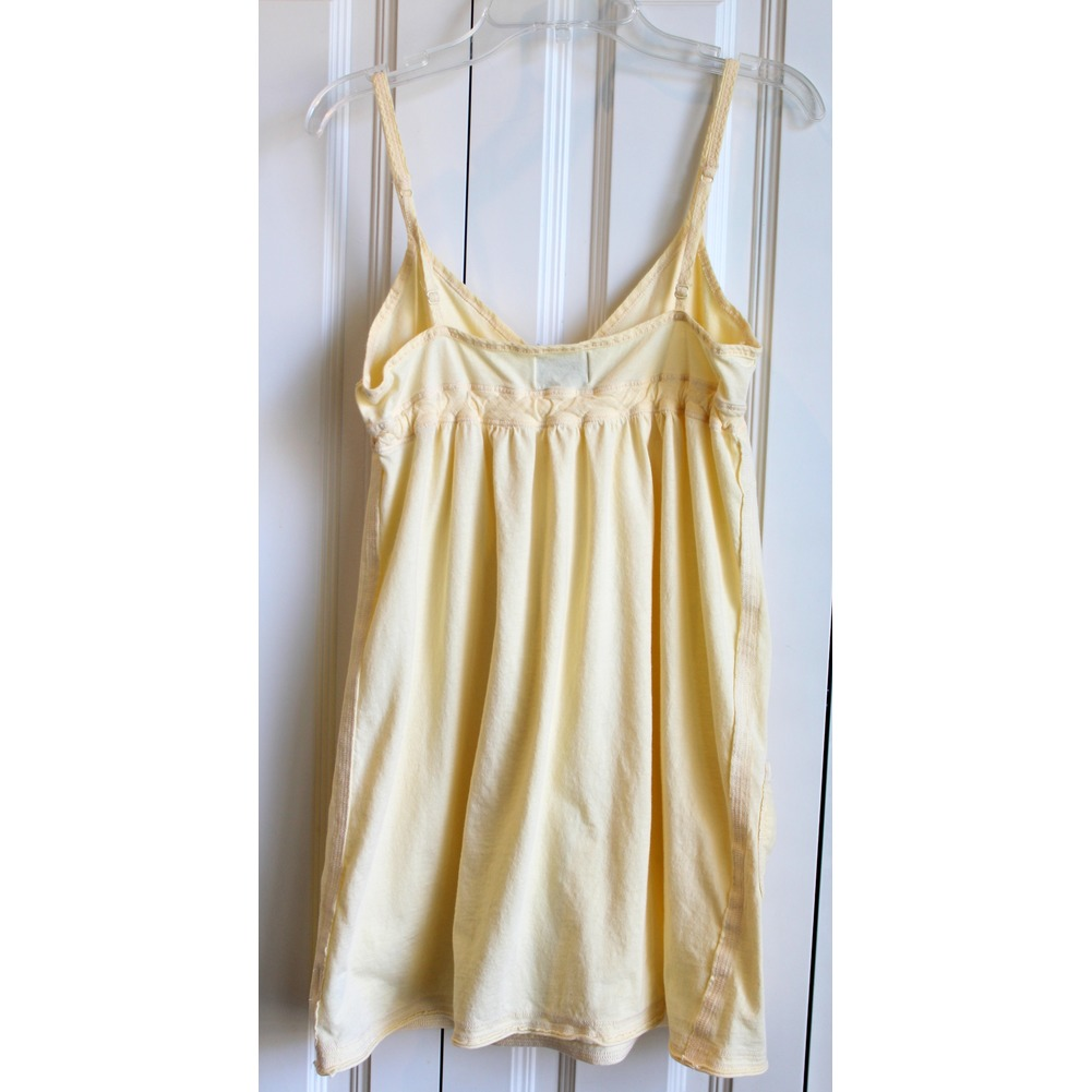 Girls AF Abercrombie Kids Two Dress Lot Sz S Yellow Graphic Gray