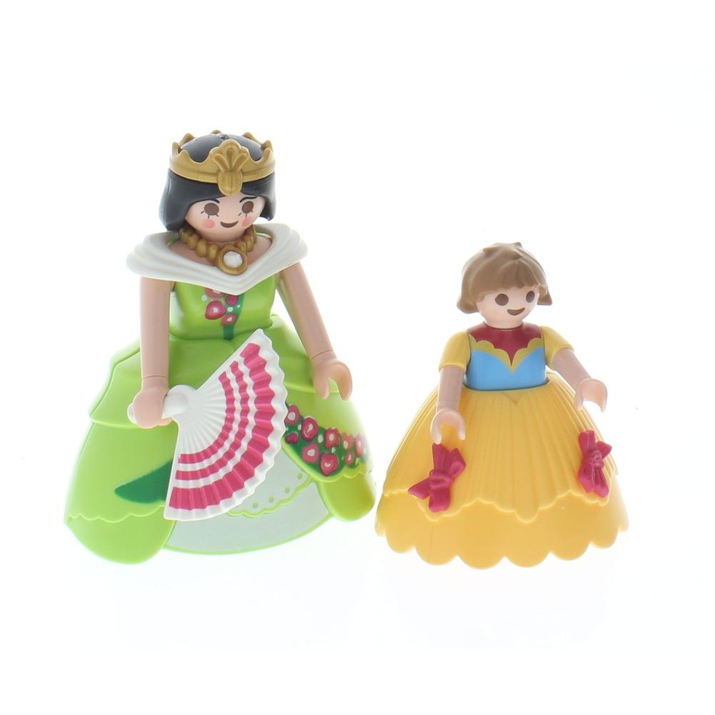 Playmobil Victorian Aristocrat Woman and Child Doll set  Dress Lot