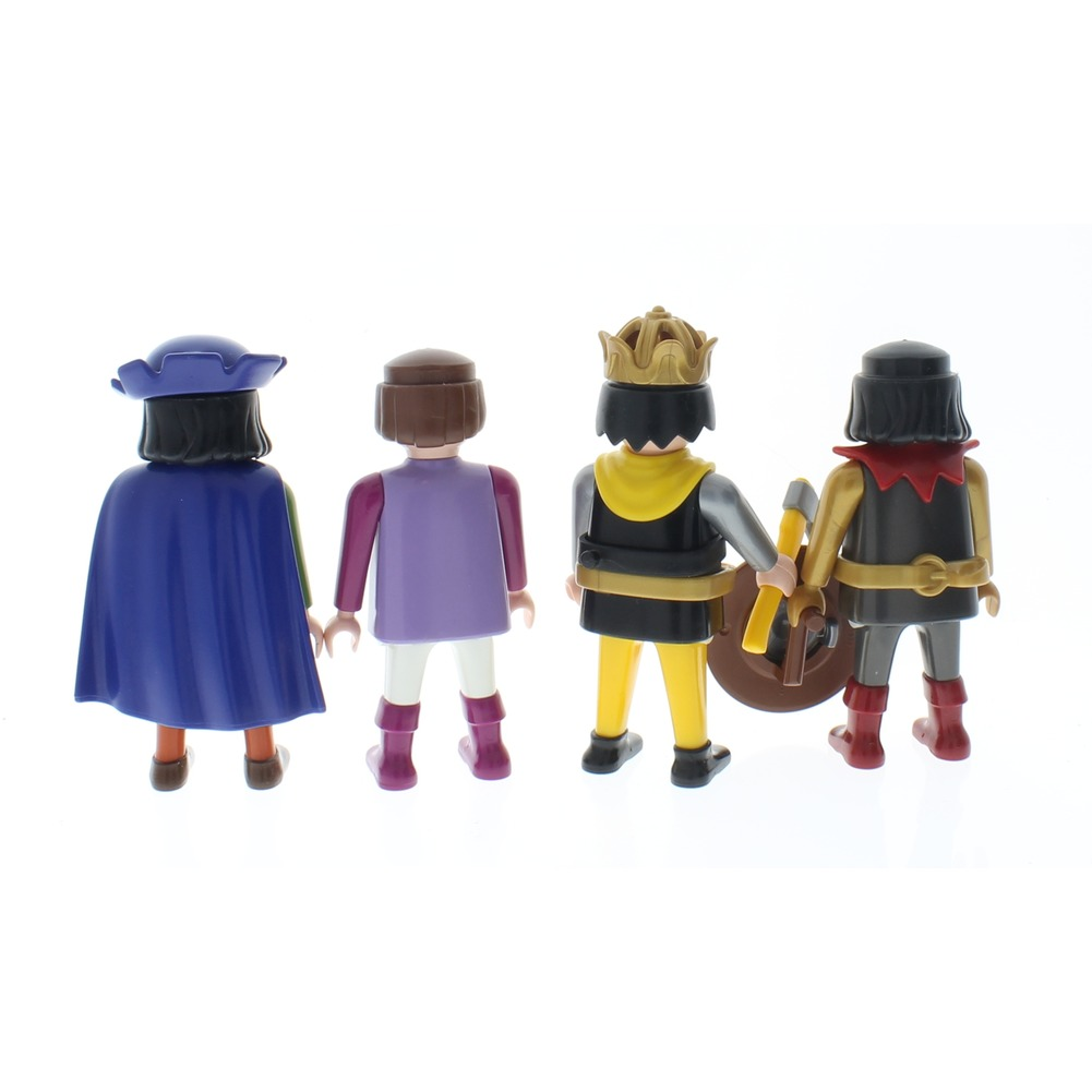 Playmobil Victorian Castle Knights King Men lot Doll Set