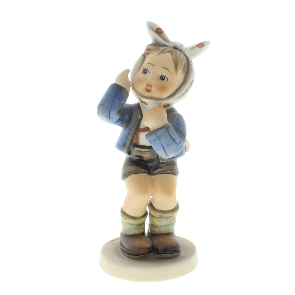 Goebel Hummel Figurine #217 Little Boy with Toothache TMK 5