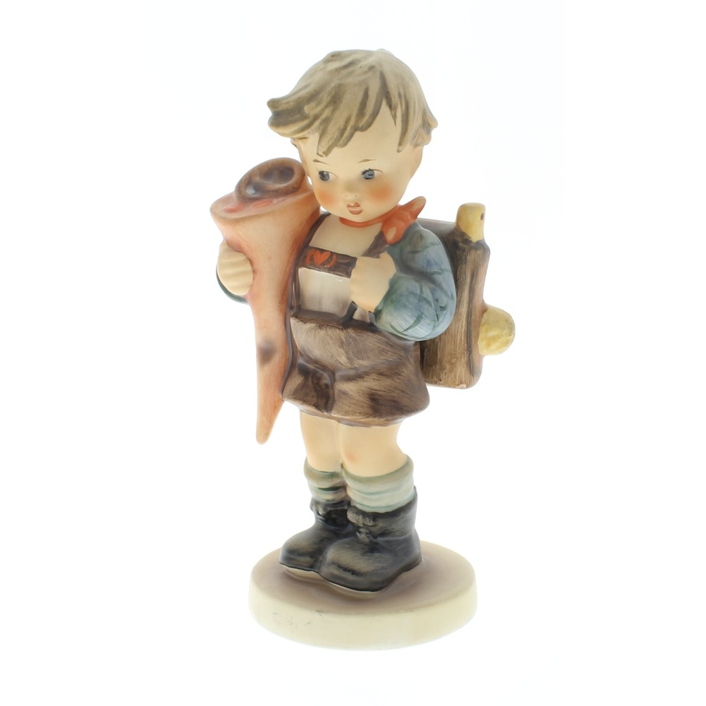 Goebel Hummel Figurine #80 Little Scholar Boy TMK 5