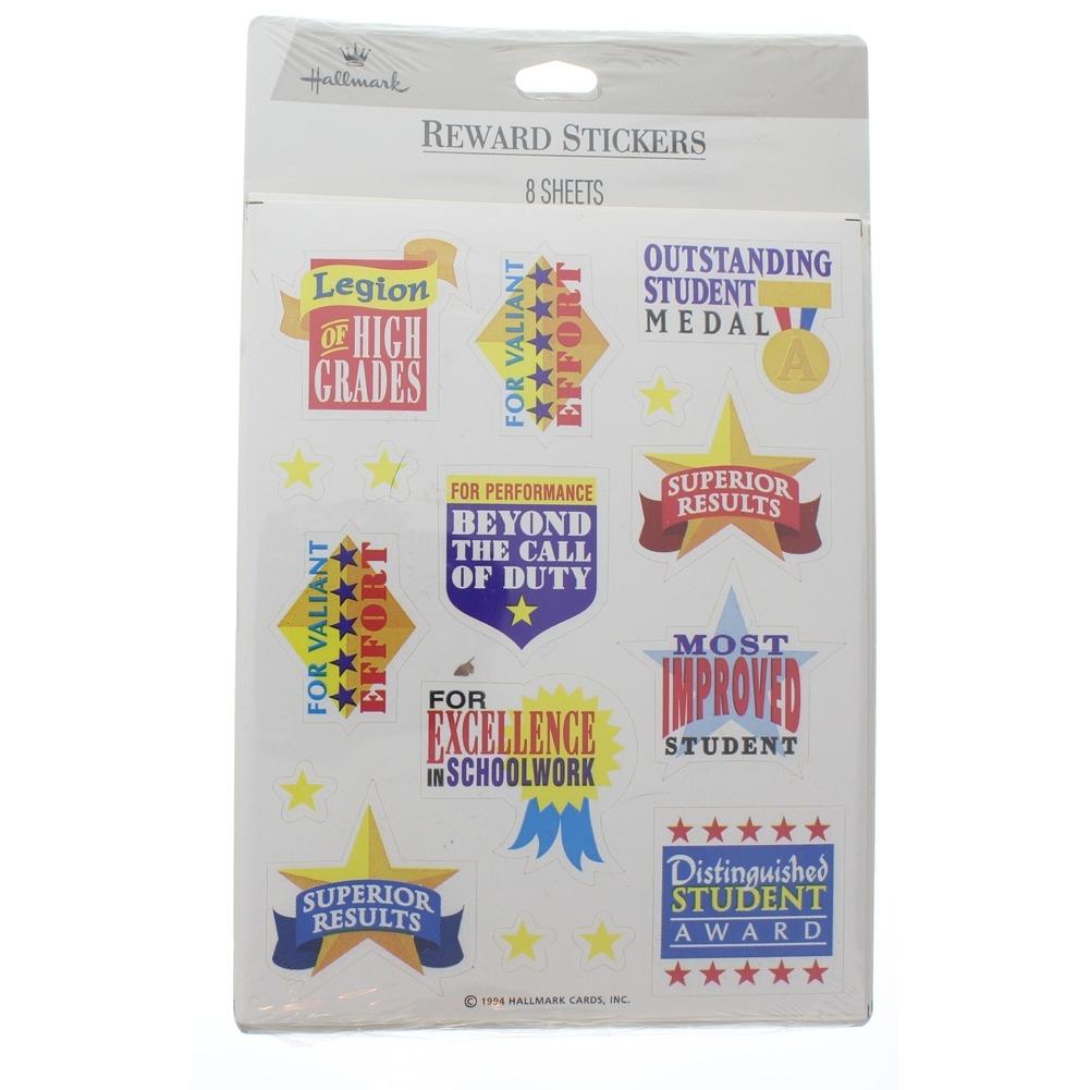 Hallmark Vintage Sticker Pack Reward Stickers Great for Students Teachers