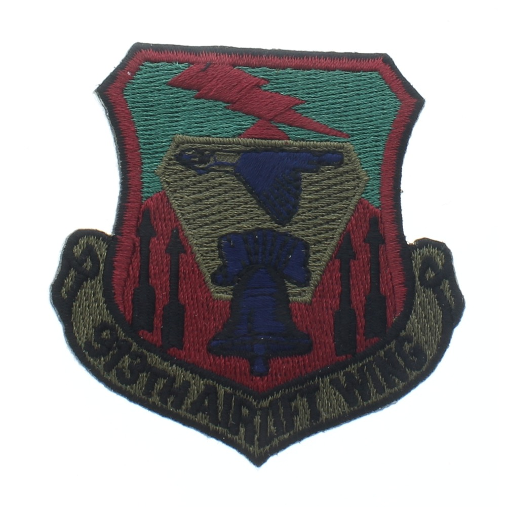 913th Airlift Wing US Air Force Patch Subdued USAF