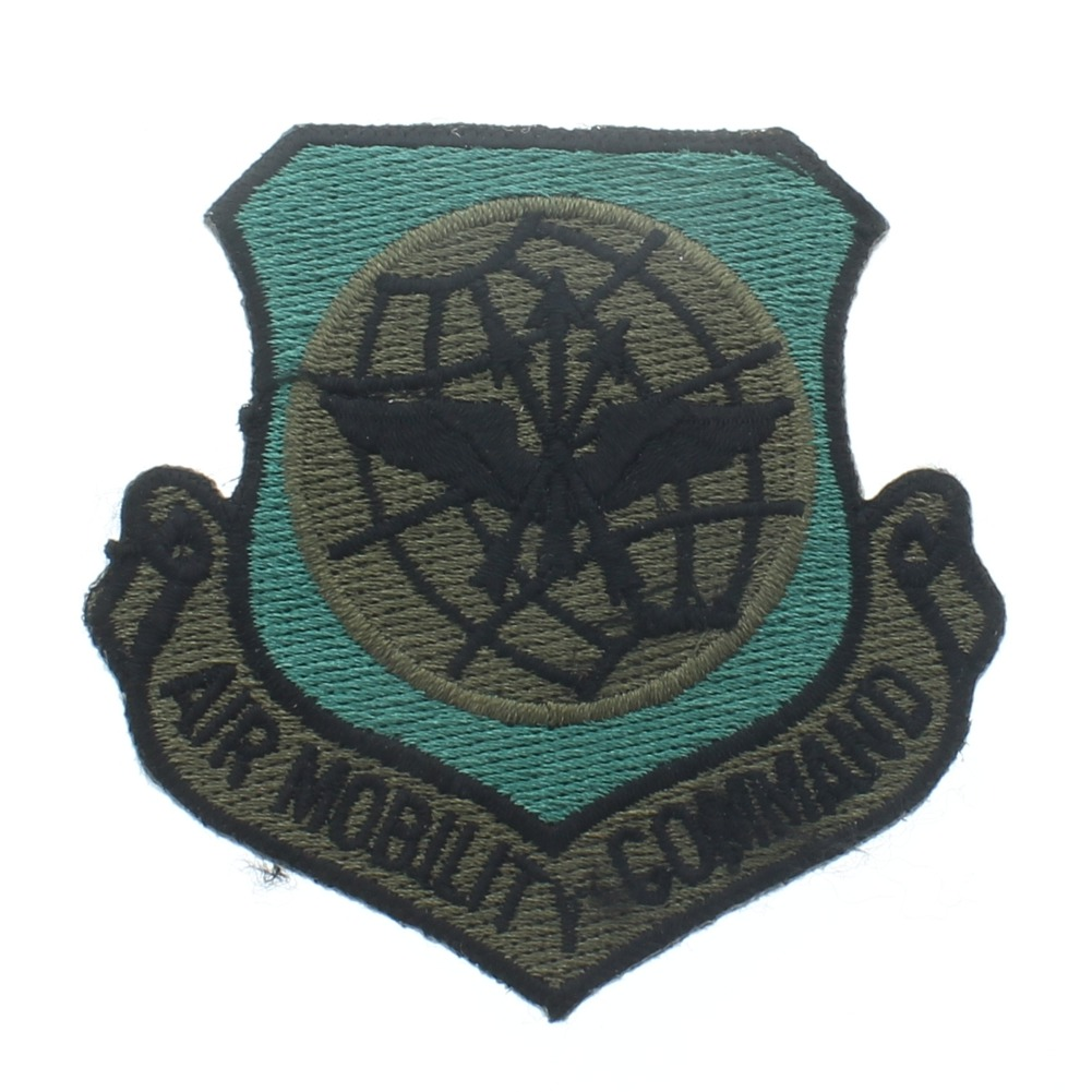 Air Mobility Command Subdued Shield Style Uniform Patch - United States Air Force  USAF