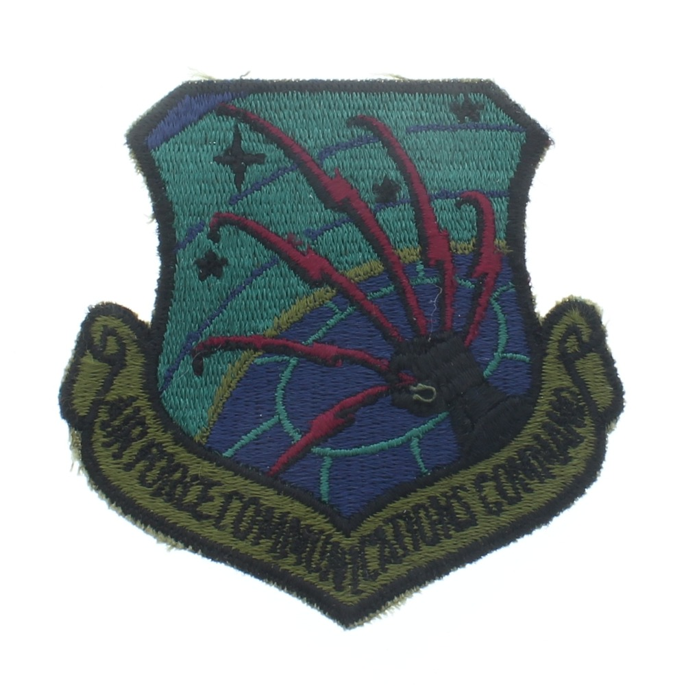 AF communications Command Uniform Patch - United States Air Force  USAF