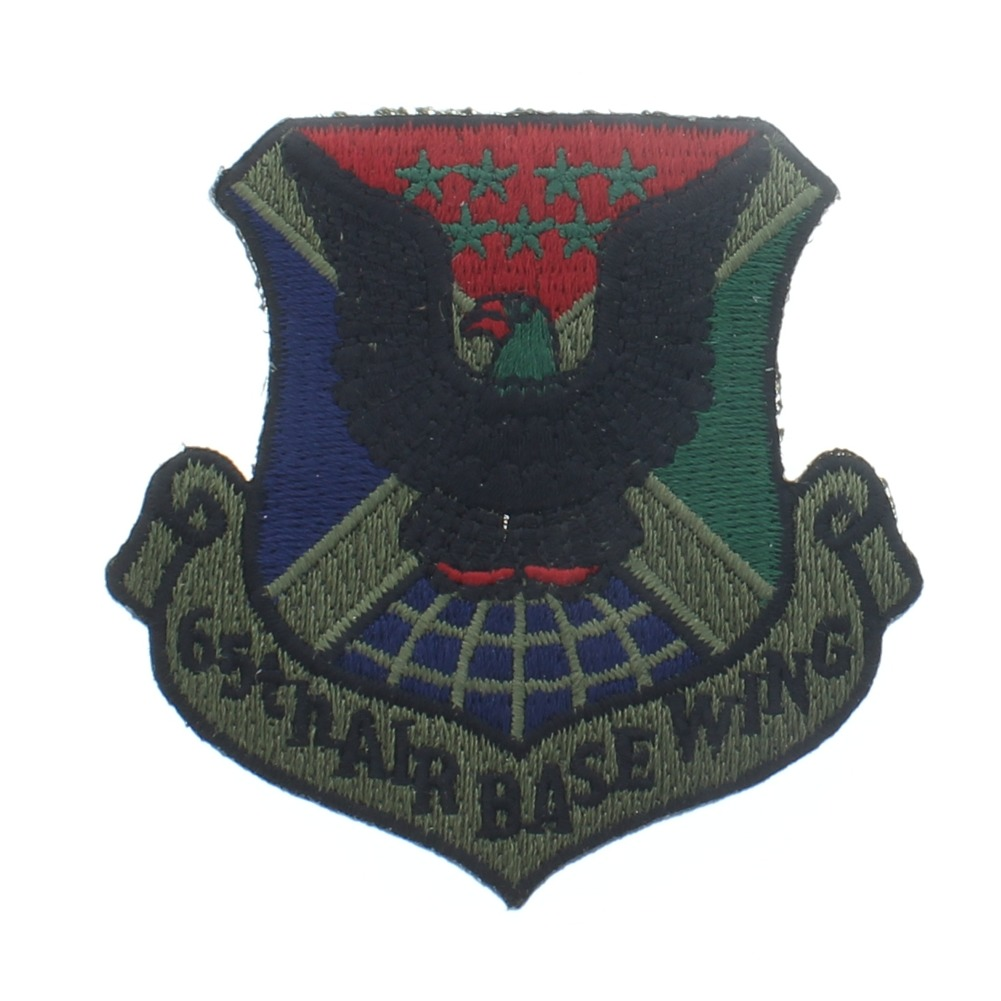 65th Air Base Wing Uniform Patch - United States Air Force  USAF