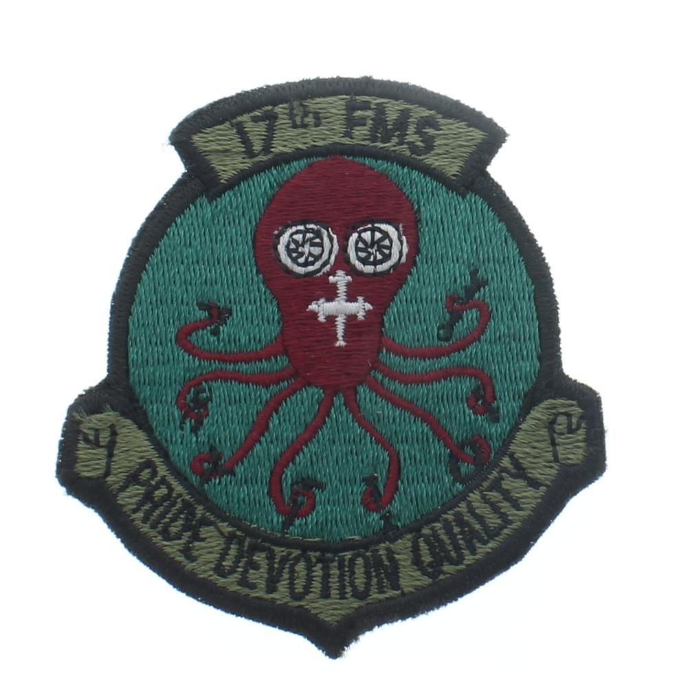 Pride Devotion Quality 17th FMS United States Air Force  USAF