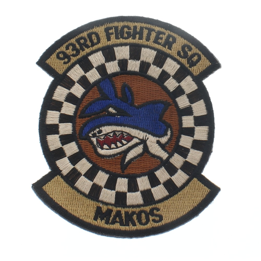 93rd Fighter Squadron Makos Shark United States Air Force  USAF