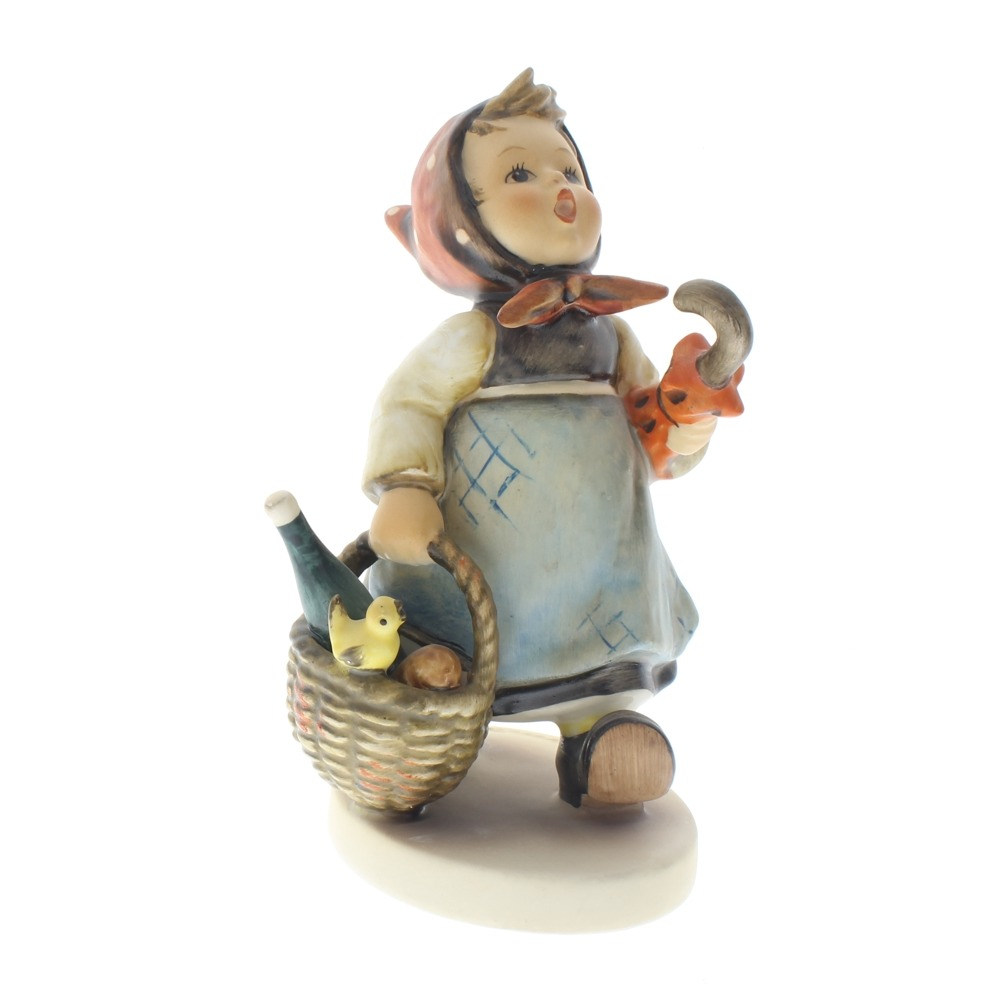 Goebel Hummel Figurine Visiting an Invalid #382 Tmk 5