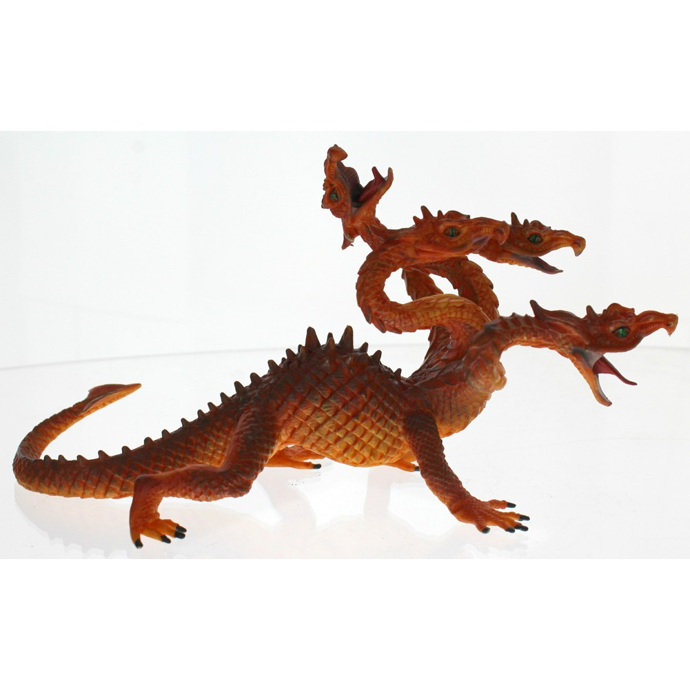 Schleich Animal Figurine 4-Headed Serpent Dragon