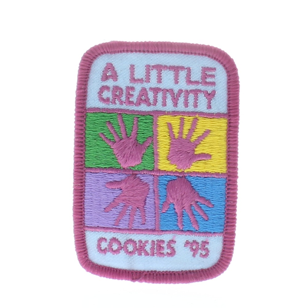Girl Scout Gs Vintage Uniform Patch Cookies 95 A  Little Creativity