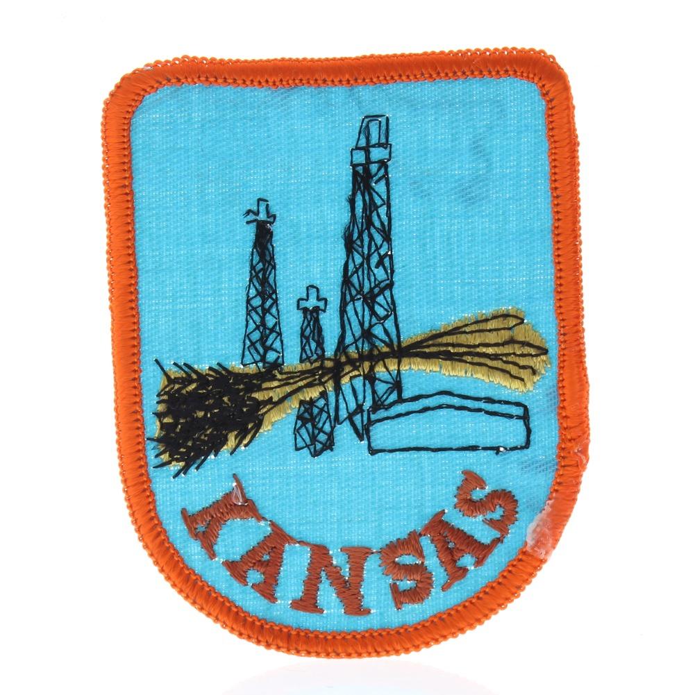 Kansas State  Collectible Uniform Patch