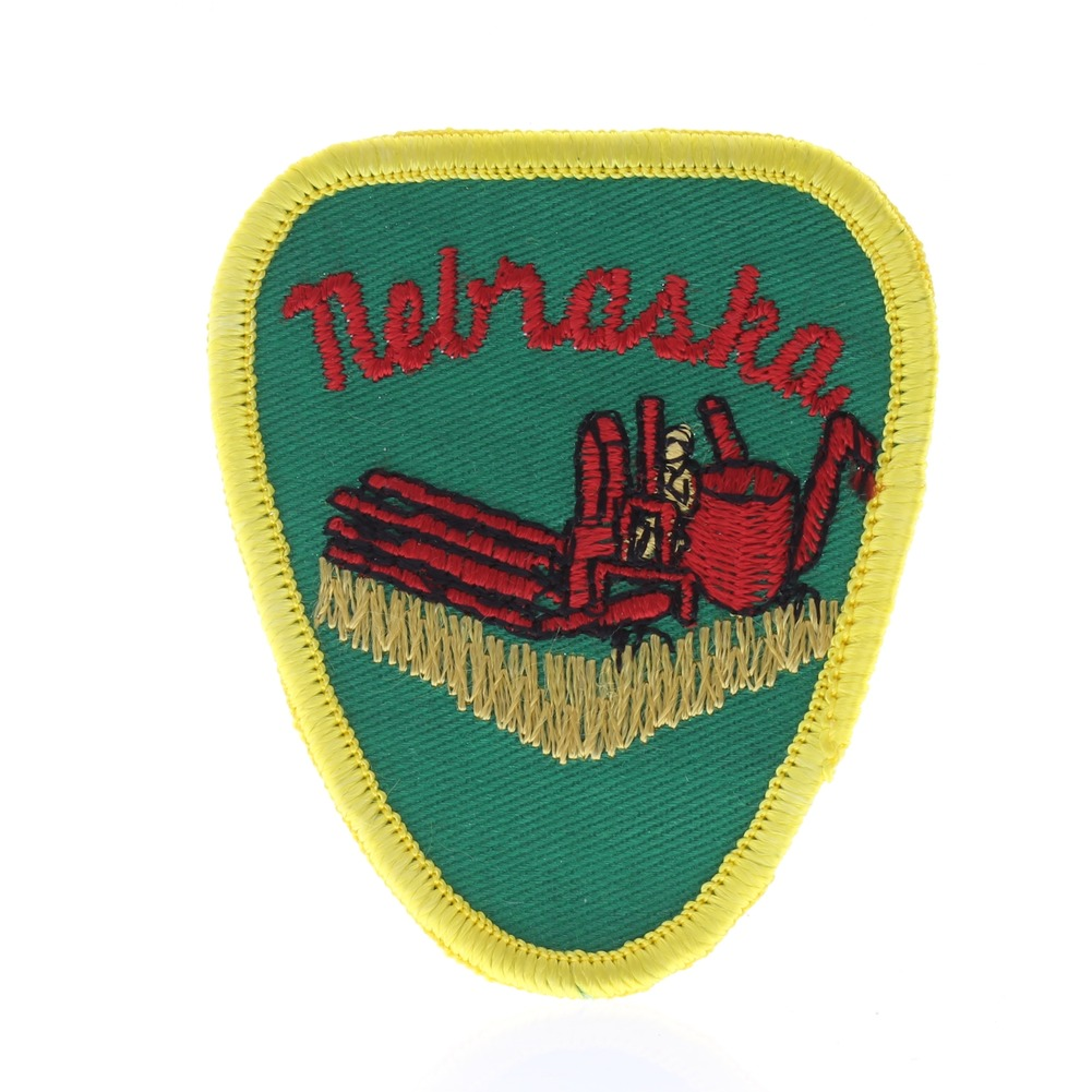 Nebraska State  Collectible Uniform Patch