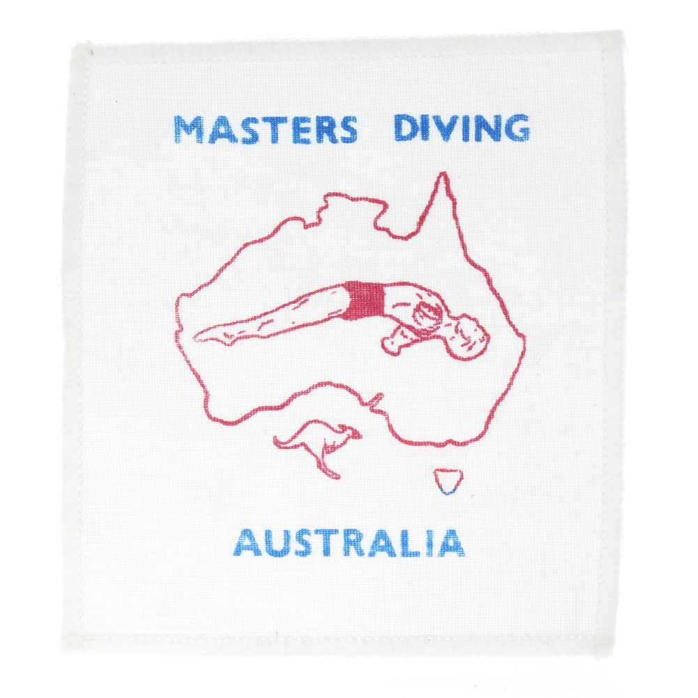 Masters Diving Australia Collectible Uniform Patch