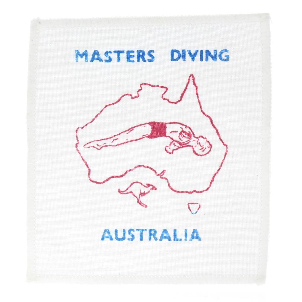 Masters Diving Australia Collectible Uniform Patch